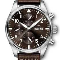 IWC Pilot Chronograph new 2020 Automatic Chronograph Watch with original box and original papers IW377713