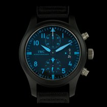 IWC Big Pilots Blue Chronograph Top Gun IW388003 Boutique...