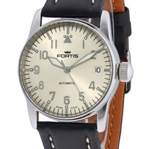 Fortis Aviatis Flieger Lady Automatic Steel Womens Strap Watch...