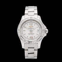 Breitling Colt Diamond Stainless Steel Ladies A7738853/G793 -...