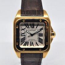 Cartier Santos 100 Zuto zlato
