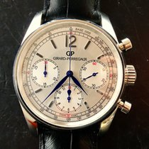 Girard Perregaux pre-owned Automatic 38mm Silver Sapphire crystal 3 ATM