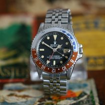 Rolex GMT-Master with faded Pepsi bezel