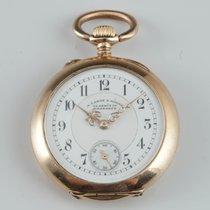 A. Lange & Söhne Ladys  Glashuette 18k gold open face pocket...