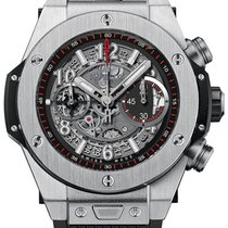 Hublot Big Bang Unico new Automatic Chronograph Watch with original box and original papers 411.NX.1170.RX