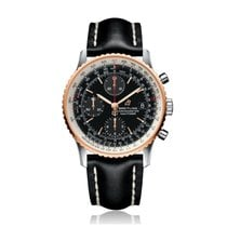Breitling Navitimer Gold/Steel 41mm Black United States of America, Iowa