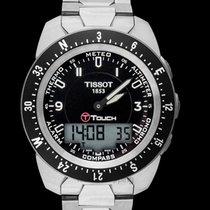 Tissot Quartz Analog Digital Titanium Men's Watch 44mm - T01