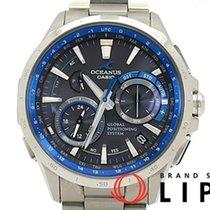 Casio カシオ オシアナス GPS ハイブリッド ソーラー電波時計