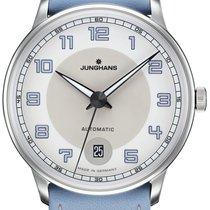 Junghans Meister Driver 027/4718.00 JUNGHANS MEISTER DRIVER AUTOMATIC azzurro neu
