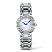 Longines PrimaLuna Steel 30mm Mother of pearl United States of America, Iowa