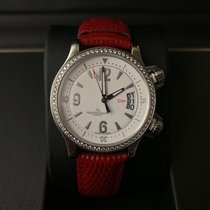 Jaeger-LeCoultre Master Compressor Lady Automatic Staal 37mm Wit Arabisch
