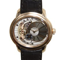 愛彼 Millenary 18k Rose Gold Dark Grey Automatic 15350OR.OO.D093...