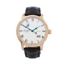 Glashütte Original Rose gold 40mm Automatic 100-04-32-15-04 new United Kingdom, Bishop's Stortford