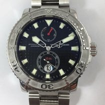 Ulysse Nardin pre-owned Automatic 43mm Black Sapphire crystal 30 ATM