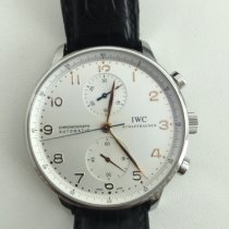 IWC Chronograph 41mm Automatic 2007 pre-owned Portuguese Chronograph