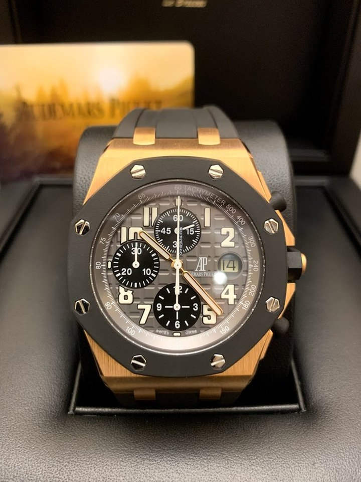 a2cee9feafa6f Audemars Piguet Royal Oak Offshore Chronograph Gold 26178OK.O... for AED  94