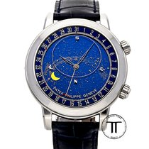 Patek Philippe new Automatic Display Back 44mm Platinum Sapphire Glass