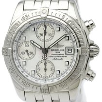 Breitling A13357 Steel Chrono Cockpit 39mm pre-owned