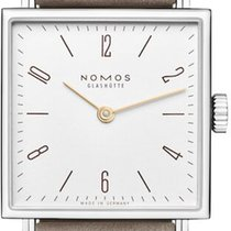 NOMOS Tetra 27 Steel 27.5mm White United States of America, New York, Airmont