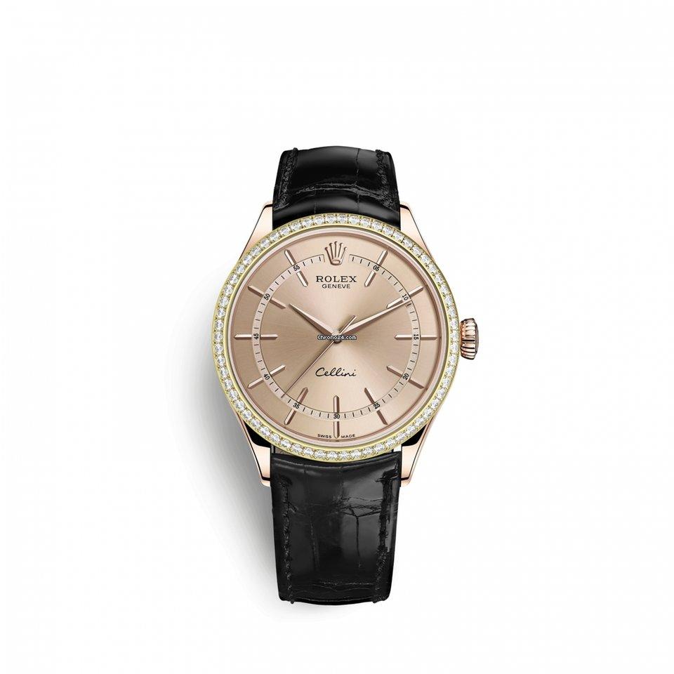 Rolex Cellini Time 50705RBR0010 новые