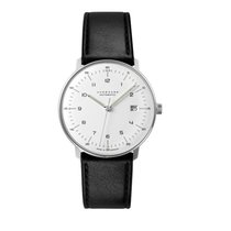 Junghans max bill Automatic Steel 38mm White Arabic numerals United States of America, New York, Brooklyn