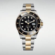 Rolex Sea-Dweller Gold/Steel 43mm Black No numerals United States of America, California, Newport Beach