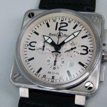 伯莱士 鋼 46mm 自動發條 Bell&Ross 柏萊士錶 Aviation系列 BR 01-94(46mm) 二手 臺灣, 高雄市