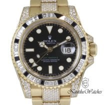 Rolex 116758SANR Or jaune 2013 GMT-Master II 40mm occasion
