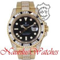 Rolex GMT-Master II Yellow gold 40mm Black