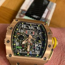 Richard Mille Or rose Remontage automatique RM11-03 RG nouveau