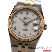 Rolex Datejust Oysterquartz Gold/Steel 36mm White Roman numerals