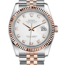 Rolex Datejust Gold/Steel 36mm Brown United States of America, New York, New York