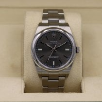 Rolex Oyster Perpetual 39 pre-owned 39mm Grey Steel