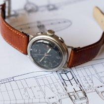 Heuer Manual winding Military Vintage Luftwaffe WW2 flieger pilot watch pre-owned