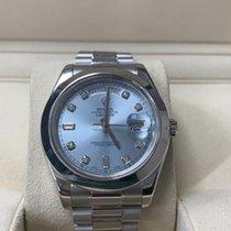 Rolex Day-Date II Platinum 41mm Blue United States of America, Florida, MIAMI