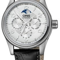 Oris Big Crown Complication Acero 40mm Plata
