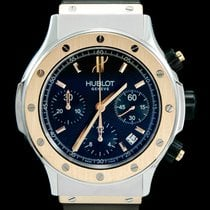 Hublot Super B Gold/Steel 42mm Black No numerals