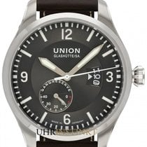 Union Glashütte Belisar Pilot Steel 45mm Grey