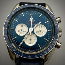 Omega Speedmaster Professional Moonwatch Steel 42mm Blue