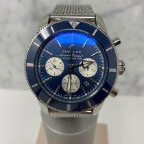 Breitling Superocean Héritage II Chronographe Stahl 44mm Blau Keine Ziffern Deutschland, Hamburg