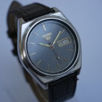 Seiko 5 Steel 38mm Brown No numerals