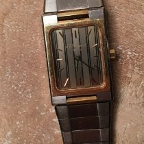 S.T. Dupont Gold/Steel 25mm Quartz 62517 pre-owned