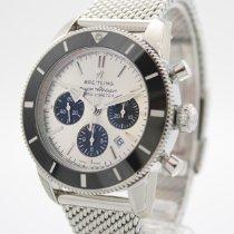 Breitling Superocean Heritage Chronograph Stahl 44mm Silber Deutschland, Sulzfeld