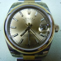 Rolex Datejust, Ref. 178243 - champagner Index ZB/Oysterband