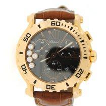 Chopard Happy Sport Diamond Chronograph 18K Rose Gold