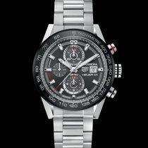 TAG Heuer Carrera Calibre HEUER 01 Chronograph Data  CAR201WBA...