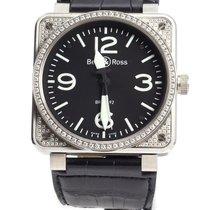 Bell & Ross 01 92 Aviation Military Diamonds - Men's...