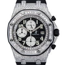 Audemars Piguet Royal Oak Offshore 42mm Diamond-Set Custom...