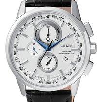 Citizen AT8110-11A CITIZEN H804 Radiocontrollato 43mm Acciaio Pelle new