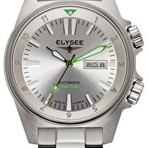Elysee Executive Edition Steel 41mm Silver Arabic numerals